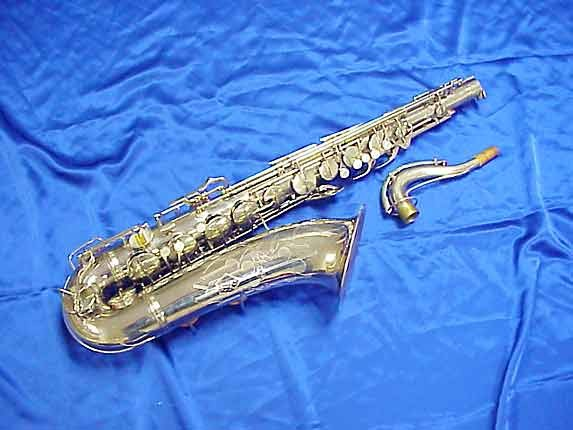 Conn Nickel Plate 10M Tenor - 279795 - Photo # 1