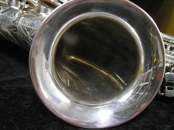 Selmer Silver Super Balanced Action Tenor - 50980 - Photo # 13