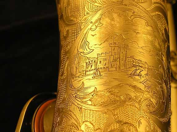 Selmer Custom Engraved Reference 54 Tenor - 640093 - Photo # 12