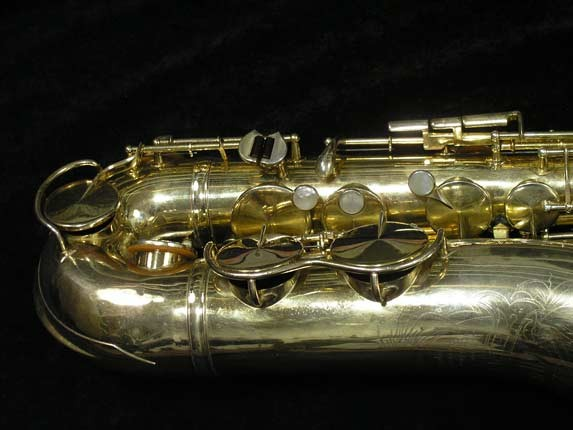 King Gold Plate Zephyr Tenor - 281276 - Photo # 2