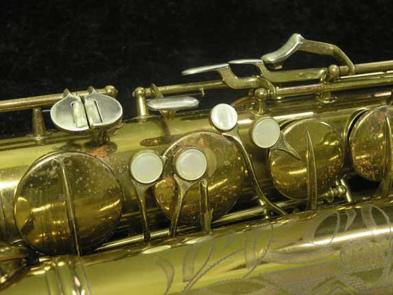 C.G. Conn Lacquer 30M Tenor - 295442 - Photo # 14
