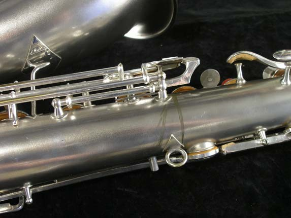 Conn Silver Plate Chu Berry Tenor - 156032 - Photo # 16