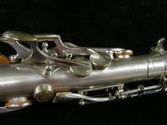 Selmer Matte Silver Plate Balanced Action Alto - 26987 - Photo # 9