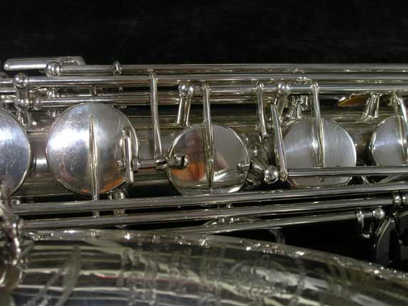 Selmer Silver Super Balanced Action Tenor - 50980 - Photo # 14