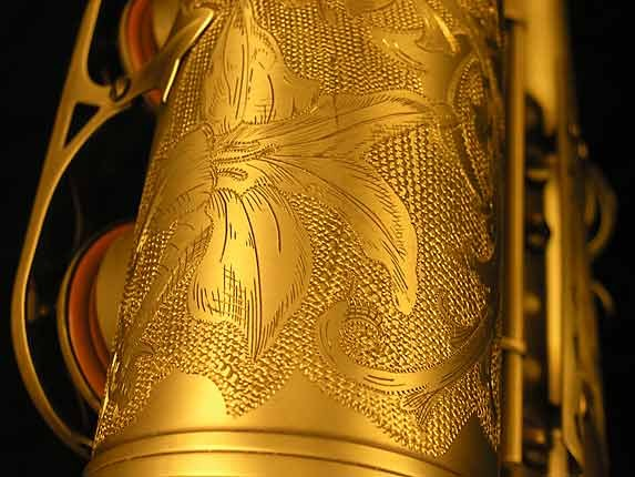 Selmer Custom Engraved Reference 54 Tenor - 640093 - Photo # 13