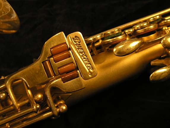 Buescher Gold Plate Aristocrat Series I Alto - 273489 - Photo # 8