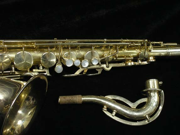 King Gold Plate Zephyr Tenor - 281276 - Photo # 3