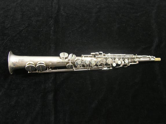 Holton Silver Plate Collegiate Soprano - 201886 - Photo # 1