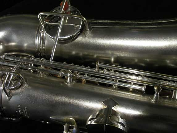 Conn Silver Plate Chu Berry Tenor - 156032 - Photo # 17