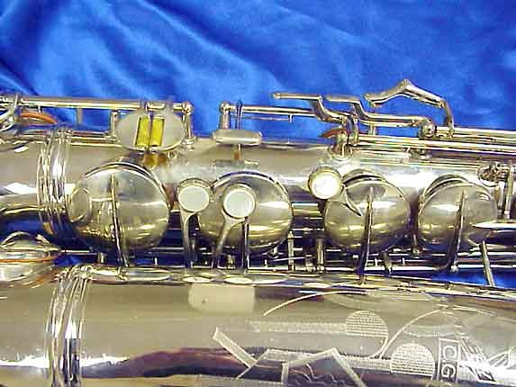 Conn Nickel Plate 10M Tenor - 279795 - Photo # 3