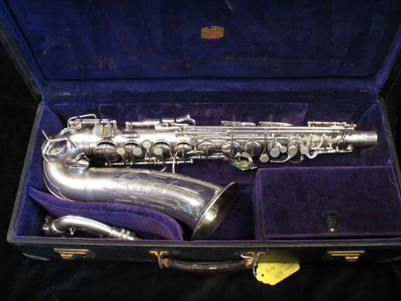 Conn Silver Plate Transitional 6M Alto - 250669 - Photo # 1