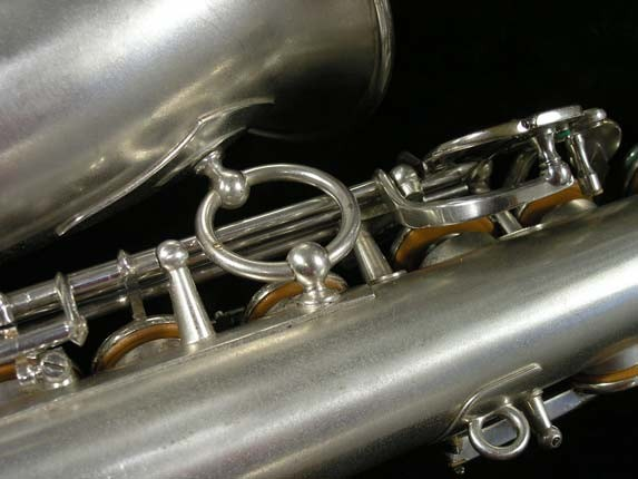 Selmer Matte Silver Plate Balanced Action Alto - 26987 - Photo # 10