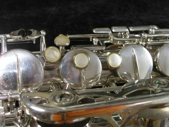 Selmer Silver Super Balanced Action Tenor - 50980 - Photo # 15