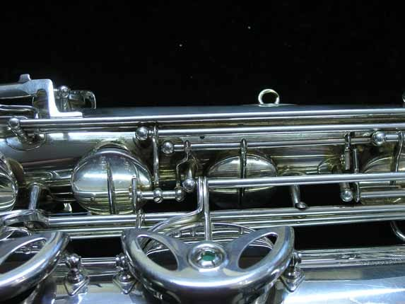 "Selmer Silver Plate Mark VI ""Low A"" Baritone - 177100 - Photo # 16"