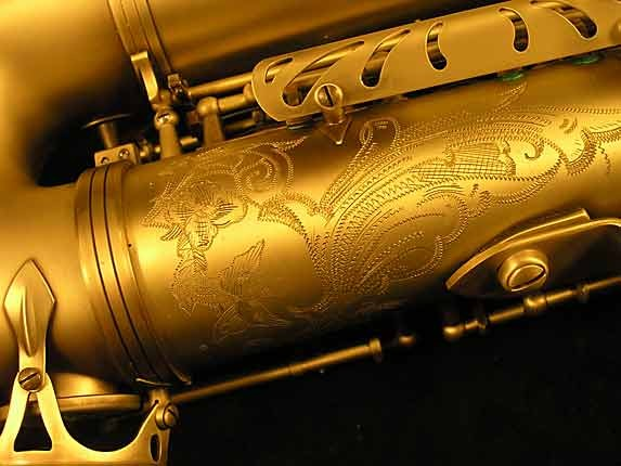 Selmer Custom Engraved Reference 54 Tenor - 640093 - Photo # 14