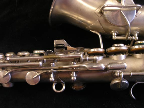 King Silver H.N. White Model Curved Soprano - 52664 - Photo # 9