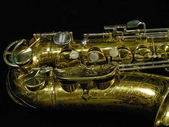 King Lacquer-Sterling Neck Super 20 Alto - 415043 - Photo # 2