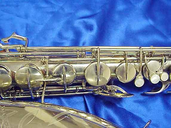 Conn Nickel Plate 10M Tenor - 279795 - Photo # 4