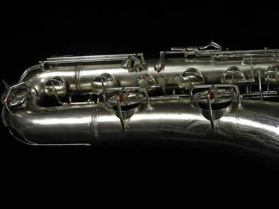 Conn Silver Plate 12M Baritone - 272488 - Photo # 2
