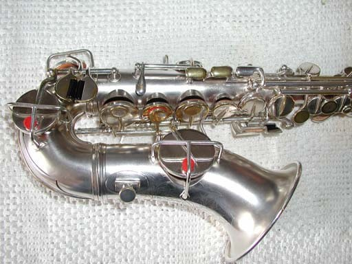 "Conn ""New Wonder"" Burnished Gold Plate Curved Soprano - 26695 - Photo # 4"