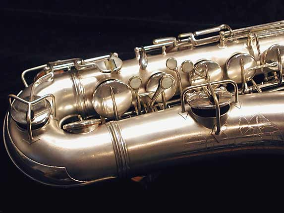 "Conn ""New Wonder"" Matte Silver Plate Tenor - 131325 - Photo # 2"
