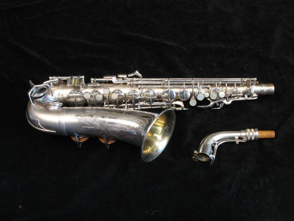 Conn Silver Plate Transitional 6M Alto - 250669 - Photo # 2
