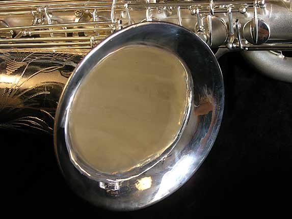 Selmer Matte Silver Super Balanced Action Bari Sax - 52454 - Photo # 12