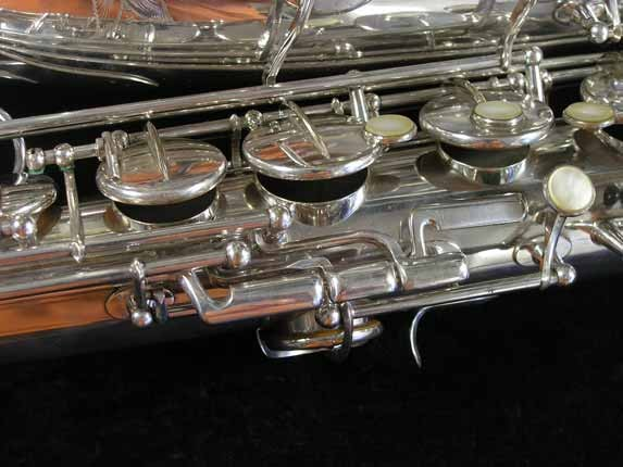 Selmer Silver Super Balanced Action Tenor - 50980 - Photo # 16