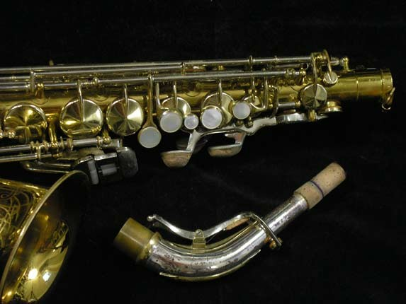 King Lacquer-Sterling Neck Super 20 Alto - 415043 - Photo # 3