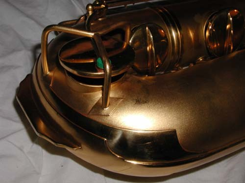 "Conn Gold Plate Chu Berry ""Mulligan Vintage"" Baritone - 208228 - Photo # 13"