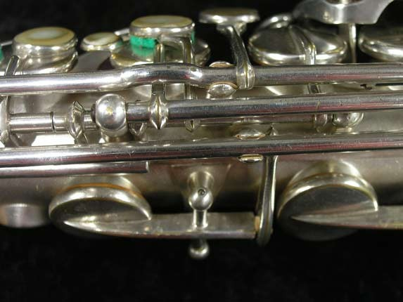 Selmer Matte Silver Plate Balanced Action Alto - 26987 - Photo # 12