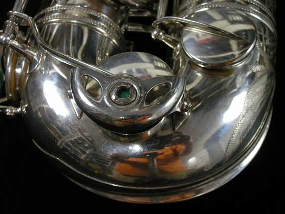Selmer Silver Super Balanced Action Tenor - 50980 - Photo # 17