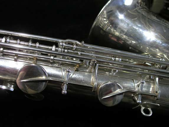 Selmer Silver Plate Mark VI Tenor - 63779 - Photo # 13