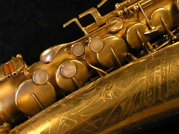 Buescher Gold Plate Aristocrat Series I Alto - 273489 - Photo # 11