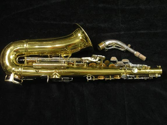 King Lacquer-Sterling Neck Super 20 Alto - 415043 - Photo # 4