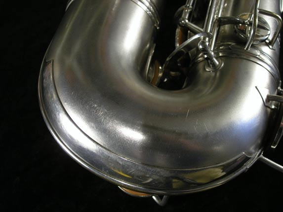 Conn Silver Plate Chu Berry Tenor - 156032 - Photo # 20