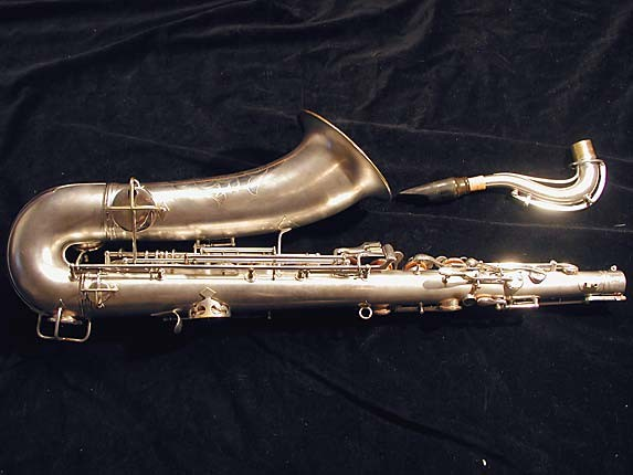 "Conn ""New Wonder"" Matte Silver Plate Tenor - 131325 - Photo # 4"