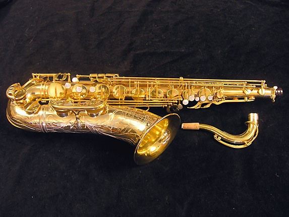 Selmer Gold Plate Super Balanced Action Tenor - 51584 - Photo # 1