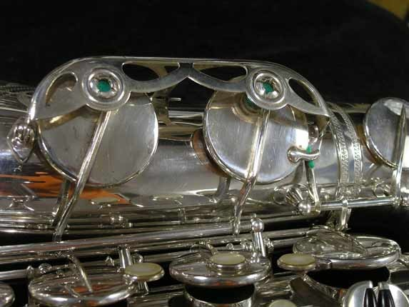 Selmer Silver Super Balanced Action Tenor - 50980 - Photo # 18