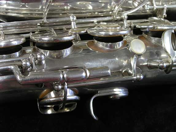 Selmer Silver Plate Mark VI Tenor - 63779 - Photo # 14