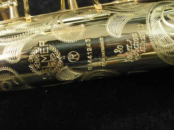 Selmer Lacquer Super Action 80 serie II Soprano - 441243 - Photo # 16