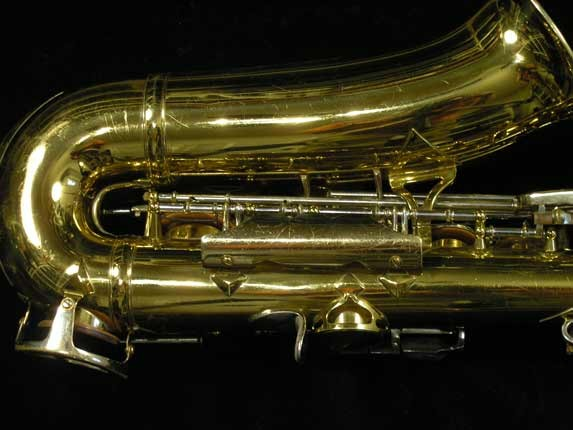 King Lacquer-Sterling Neck Super 20 Alto - 415043 - Photo # 5