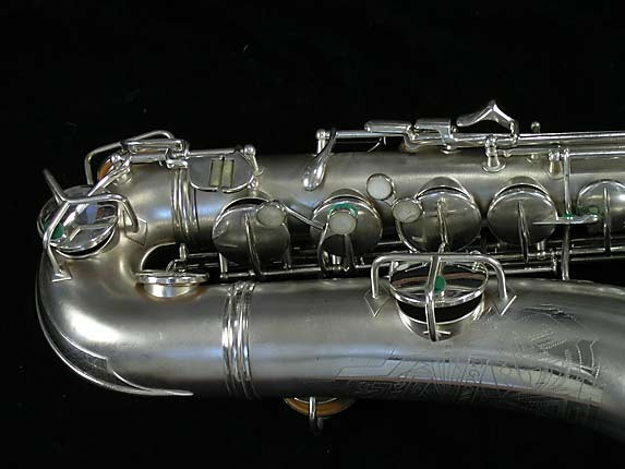 Conn Silver Plate Chu Berry C-Melody - 239967 - Photo # 3