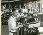Buescher Band Instrument Co.  August 5, 1936 Engraving Department