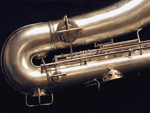 "Conn ""New Wonder"" Matte Silver Plate Tenor - 131325 - Photo # 5"