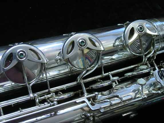 "Selmer Silver Plate Mark VI ""Low A"" Baritone - 177100 - Photo # 20"