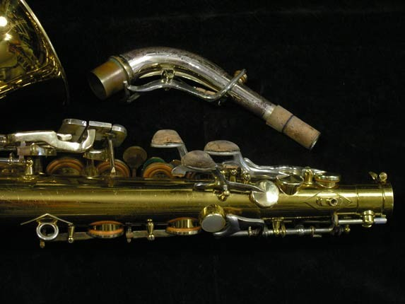 King Lacquer-Sterling Neck Super 20 Alto - 415043 - Photo # 6