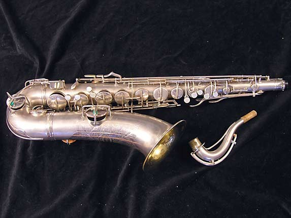 Conn Silver Plate Chu Berry Tenor - 235267 - Photo # 1