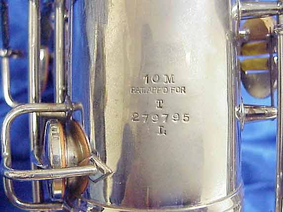 Conn Nickel Plate 10M Tenor - 279795 - Photo # 8