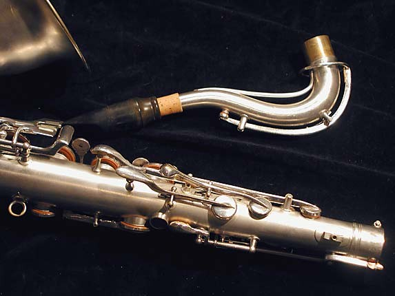 "Conn ""New Wonder"" Matte Silver Plate Tenor - 131325 - Photo # 6"